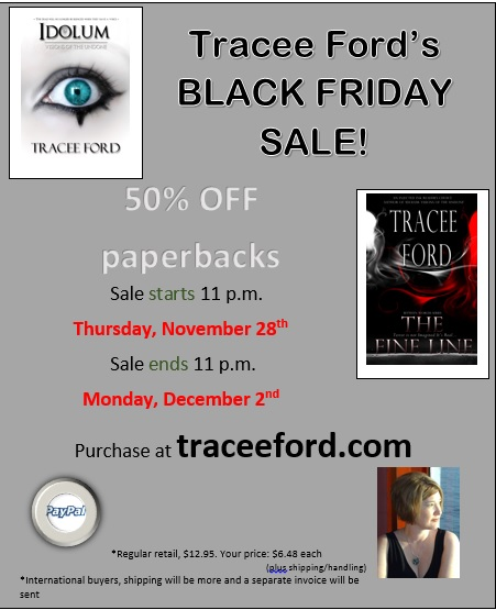 Black Friday Sale Announcement: Paperback 50% OFF!