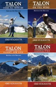 Talon Book Cover Poster - SVers
