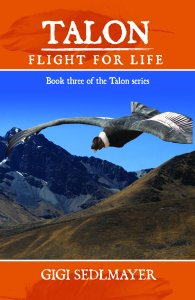 TALON, FLIGHT FOR LIFE 3 front cover only